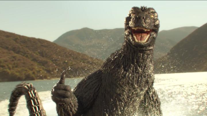 Godzilla nous a mangé toutrond!