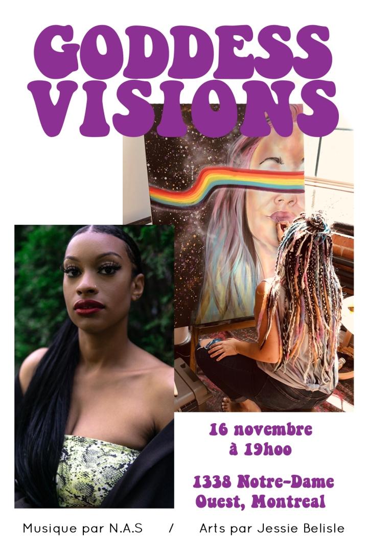 Goddess Visions : Quel succès!